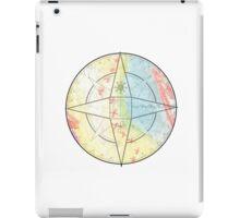 Chalk Compass iPad Case/Skin