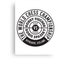 THE WORLD CHESS CHAMPIONSHIP 1972 Canvas Print