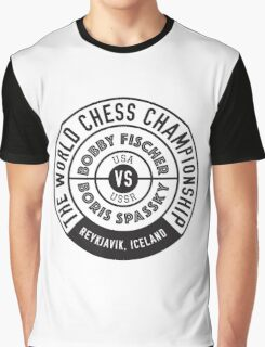 THE WORLD CHESS CHAMPIONSHIP 1972 Graphic T-Shirt