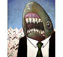 Card Shark Photographic Print