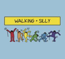 Pop Shop Silly Walks One Piece - Short Sleeve