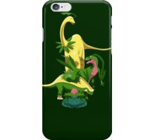 Pokesaurs - Grassiosaurs iPhone Case/Skin