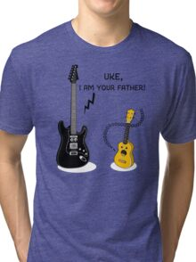 Uke, I am your Father! Tri-blend T-Shirt