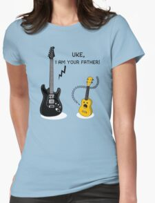 Uke, I am your Father! Womens Fitted T-Shirt
