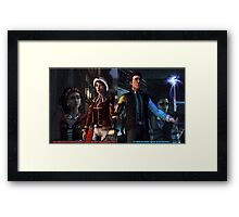 Your Side Of The Story Framed Print
