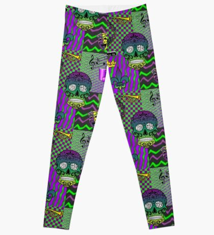 Mardi Trippy Collage Leggings