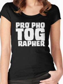 PRO phoTOGrapher Women's Fitted Scoop T-Shirt