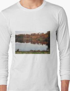 Tarn Hows - Autumn Colours Long Sleeve T-Shirt