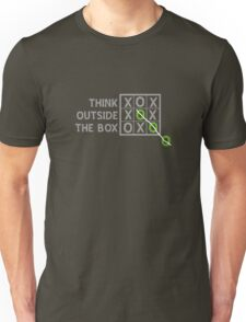 Think Outside the Box (White) T-Shirt
