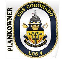 LCS-4 USS Coronado Plankowner Poster