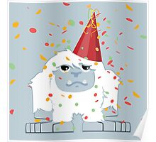 Party Yeti Poster