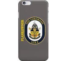 LCS-4 USS Coronado Plankowner for Dark iPhone Case/Skin