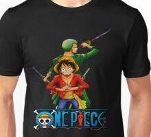 One Piece Luffy and Zoro Unisex T-Shirt