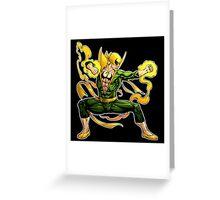 Iron Fist Greeting Card