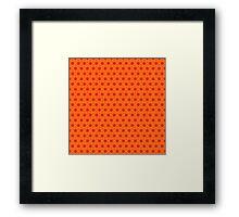 Geometric pattern Framed Print