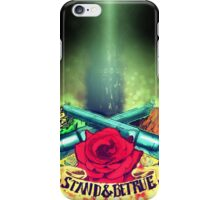 Stand & Be True (The Dark Tower) iPhone Case/Skin