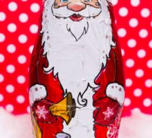Chocolate Santa Claus Sticker
