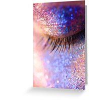 Magic On Eyelashes Greeting Card