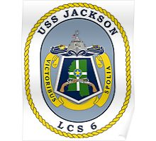 LCS-6 USS Jackson Poster
