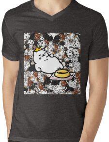 Neko Atsume - King Tubbs  Mens V-Neck T-Shirt