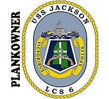 LCS-6 USS Jackson Plankowner Photographic Print