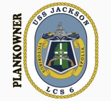 LCS-6 USS Jackson Plankowner One Piece - Short Sleeve
