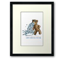 Too Much Milk 2015 Framed Print
