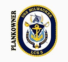 LCS-5 USS Milwaukee Plankowner Unisex T-Shirt