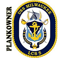 LCS-5 USS Milwaukee Plankowner Photographic Print