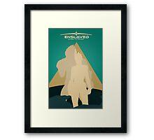 ENSLAVED Framed Print