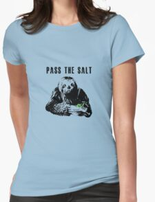 Stoner Sloth - Pass the salt 2 Womens Fitted T-Shirt