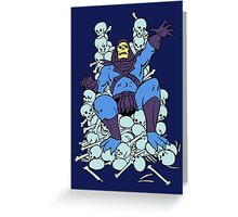 Lord of Destruction Greeting Card