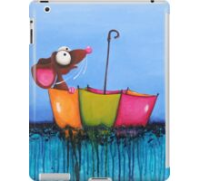 The Floating Umbrella iPad Case/Skin