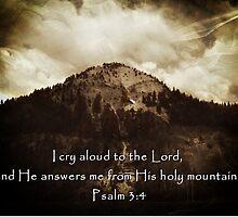 """""""Psalm 3:4"""" by Carter L. Shepard by echoesofheaven"""