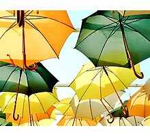 Umbrella Sky Photographic Print