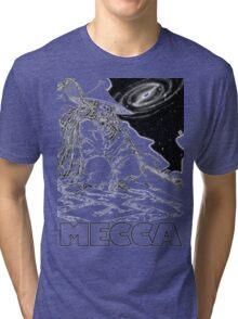 BLEU COSMOS, meccacon Tri-blend T-Shirt