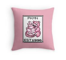 Slowbro - OG Pokemon Throw Pillow