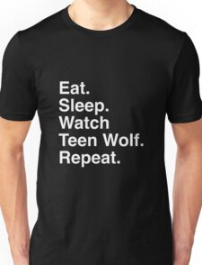 Eat. Sleep. Repeat Unisex T-Shirt