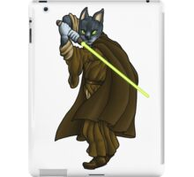Cat Jedi (New) iPad Case/Skin