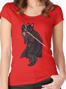 Cat Sith (new) Women's Fitted Scoop T-Shirt