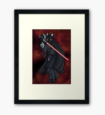 Cat Sith (new) Framed Print