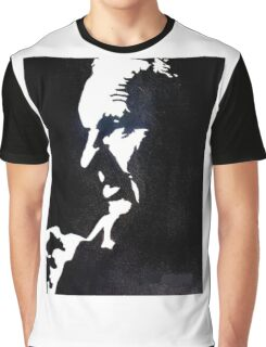 Shankly Black and White Graphic T-Shirt