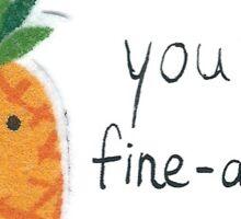 Fine-apple Sticker
