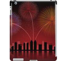 Fireworks over Cityscape Skyline iPad Case/Skin
