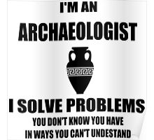 Archaeologist Poster