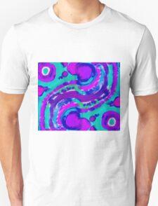 Magenta Rivers T-Shirt