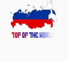 "Russia ""Top of The World"" Unisex T-Shirt"
