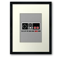 Nintendo Konami - Live by the Code (NES) Framed Print