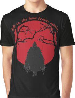 Bloodborne Hunter Graphic T-Shirt
