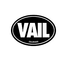VAIL - EURO STICKER - Alternate Photographic Print